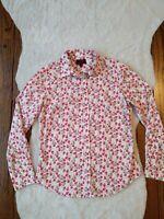LIBERTY Art Fabrics /J Crew /The Perfect Shirt Floral Print Sz 6 EXCELLENT