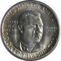 1948-P BTW Booker T Washington Half Dollar PCGS MS66 Bright White Nice Strike
