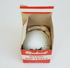 New Vintage Markwort LPC12 White Softball - Baseball, Training, Practice Ball