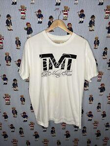 TMT The Money Team Floyd Mayweather T-Shirt - Mens XL - White