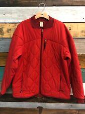 Men's Duluth Trading Company Agiloft Jacket  size Large Flamred