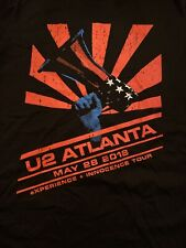 U2 I&E Limited Edition Show Shirt Atl Edun L Bono🔥🔥