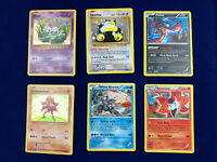 Pokemon Holographic - Holo Cards Lot of 6