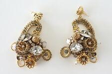 ERICKSON BEAMON Earrings intricate vintage Baroque dramatic