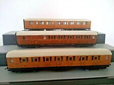 Rake of 3 Hornby LNER  Teak Coaches