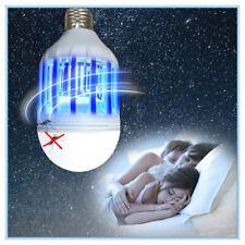 Lampe tueur de moustique LED 220V E27 Ampoule Zapper anti-mouches anti-mouches