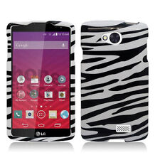 LG Optimus F60 Tribute Transpyre LS660 VS810PP Hard PC Snap-On Cover MS395 Case