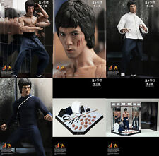 Hot Toys DX04 1/6 Bruce Lee Enter the Dragon Used in Brown Box+ TTM17 Extra Body
