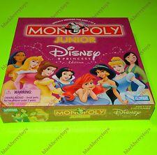 MONOPOLY JUNIOR Disney Princess Edition 2004 NEW & SEALED Snow White Cinderella