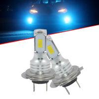 1 Pair H7 LED Headlights Bulbs Kit High/Low Beam 80W 1000LM 6000K-7000K New