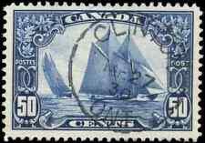Canada #158 used VF/XF 1929 Scroll 50c Bluenose Clinton,Ont. SON CDS CHOICE!