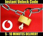 Vodafone Unlock Code VFD 100 VFD 200 VFD 300 VFD 500 VFD 700 Instant 100% Safe