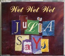 WET WET WET - Julia says  4 trk MAXI CD 1995