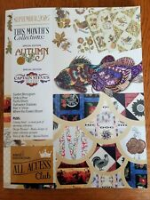 Anita Goodesign Machine Embroidery Pattern -  All Access September 2016 + Book