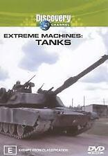 B4 BRAND NEW SEALED Extreme Machines - Tanks (DVD, 2003)
