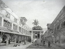 GRAVURE ANCIENNE 19e - OKEL DE ZOU-L-FIKHAR - EGYPTE