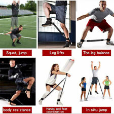 Fitness Resistance Bands Set Body Exercise Belt Pull Rope Bounce Trainer STOCK