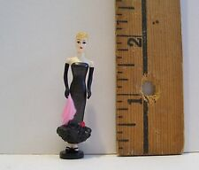 BARBIE MATTEL MINIATURE BARBIE DOLL SOLO SPOTLIGHT ACCESSORY RETIRED 1/6 LITTLES