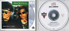 Then Jerico - What does it take? -  Maxi CD rar - Extended