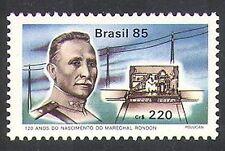 Brazil 1985 Marshal Rondon/Morse/Communications/Explorers/People 1v (n38092)