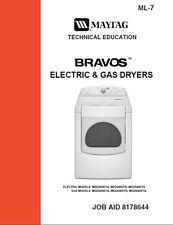 Maytag Bravos Gas & Electric Dryer Service & Repair Manual