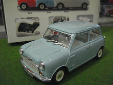 Kyosho - Kyos08105bl - Véhicule Miniature - Morris Mini Minor - Bleu - Echelle