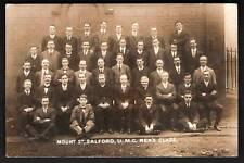 Salford. Mount Street U.M.C. Men's Class. ? Methodists.