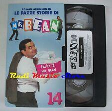 film VHS MR. BEAN Rowan Atkinson 14 Fabbri Video 1998 CARTONATA  (F47) no dvd*