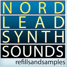 Nord Lead Synth Sounds Reason NNXT Soundfont Electro WAV Analog Wave Samples DVD