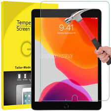 "Tempered Glass Screen Protector For Apple iPad 10.2"" 2019 7th Generation Guard"