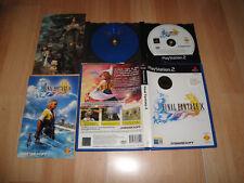 FINAL FANTASY X 10 RPG DE SQUARESOFT PARA SONY PS2 CON 2 DISCOS USADO COMPLETO