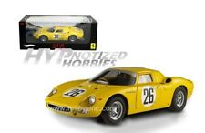 HOT WHEELS 1:18 ELITE RACE 1965 FERRARI 250LM GOSSELIN  DIECAST YELLOW P9901
