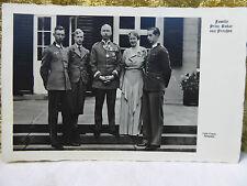 Autograph Original Unterschrift Prinz Oskar von Preussen Persönliche Antwort Rar