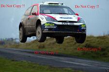Colin McRae. FORD FOCUS RS WRC 02 RALLY GB 2002 fotografia 1