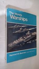 THE WORLD'S WARSHIPS di RAYMOND BLACKMAN IN LINGUA INGLESE 1969