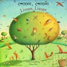 Listen, Listen in Bengali and English by Gershator, Phillis | Paperback Book | 9