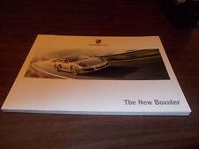 2012 Porsche Boxter 110-Page Deluxe Sales Catalog