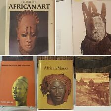 Fine African Art 4-book bundle - James Johnson Sweeney Mask Sculpture Statue