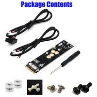 Wireless Card Module to M.2 NGFF Key B+M Adapter 12+6 Pin for Mac OS BCM94360CD