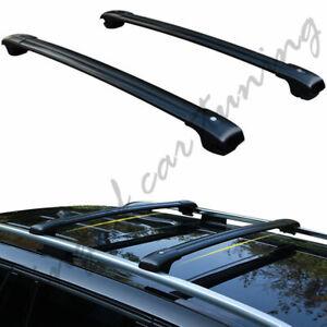 Lockable Adjustable Cross Bars Crossbars Rack Fits for Subaru Forester 2014-2018
