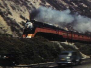 16mm FILM  HOME MOVIE  1940s COAST DAYLIGHT TRAIN & Long Beach, California