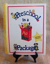Preschool - Faith Based Curriculum: Education, *REDUCED, English, Mixed Lot