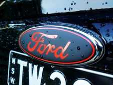 CUSTOM SINGLE FG FALCON FORD BADGE DECAL OVERLAY ONE ONLY FRONT OR BACK