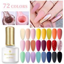 BORN PRETTY 6ml Soak Off UV Gel Nail Polish Natural Glitter Nail Art Gel Varnish