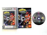 Crash Bandicoot The Wrath of Cortex Platinum PS2 PAL FREE UK P&P