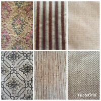 Upholstery Drapery Fabric Material By the Yard