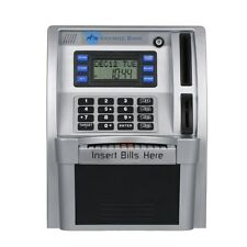 Mini ATM Safe Electronic Piggy Cash Coin Bank For Kids Password Lock Register