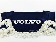 Truck Lorry Windscreen Window Shield Pelmet Tassels Waveform Logo BLUE VOLVO