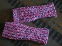 Hand Knitted Leg Warmers Australia Made