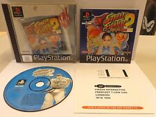 Game Gioco SONY Playstation PSOne PSX PAL PS1 - STREET FIGHTER COLLECTION 2 - -